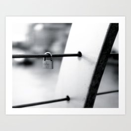 Love Locks 2012 04 Art Print