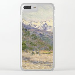 The Valley of the Nervia Clear iPhone Case