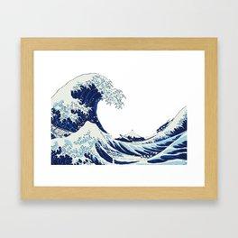 The Big Wave Framed Art Print