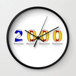 2000 - NAVY - My Year of Birth Wall Clock