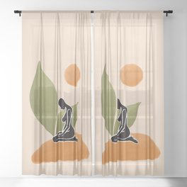 Growth Sheer Curtain