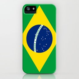Flag of Brazil-Brazil, flag, flag of brazil, brazilian,Rio, Sao Paulo, Rio de Janiero, carnival iPhone Case