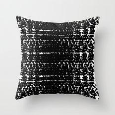 Black mood Throw Pillow