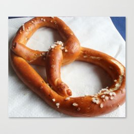 Pretzel Perfection Canvas Print