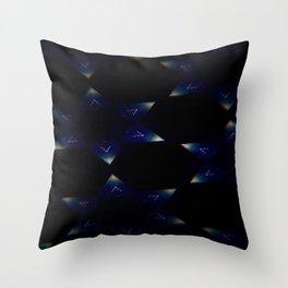 Sapphire Night Throw Pillow