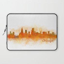 Chicago City Skyline Hq v3 Laptop Sleeve