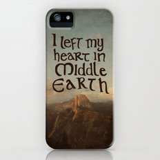 I Left My Heart in Middle Earth Slim Case iPhone (5, 5s)