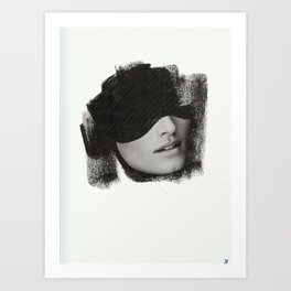 shit Art Print