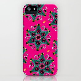 pop pattern_christmas iPhone Case