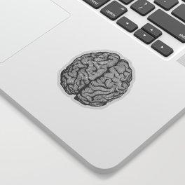 Brain vintage illustration Sticker