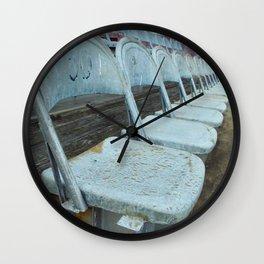 Oxodized Seats Wall Clock
