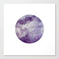 minerals Canvas Prints featuring Minerals by Paul Feather