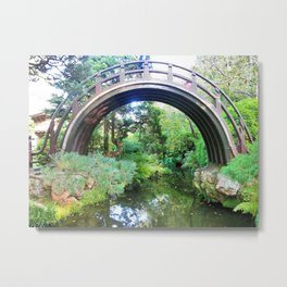 Bridge of serenity Metal Print