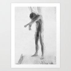 Standing Ludvik Art Print