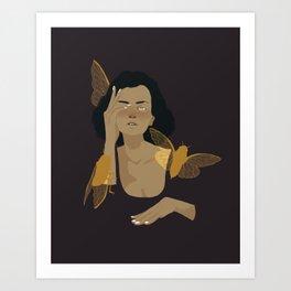 Blind Cicadas Art Print