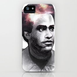 Huey Percy Newton (2/17/1942 – 8/22/1989) iPhone Case