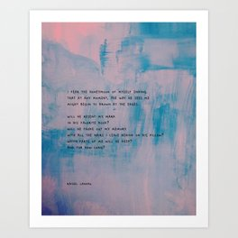 Ending Art Print