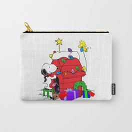 snoopy home christmas Carry-All Pouch