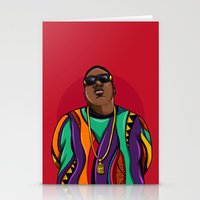 mcfreshcreates Stationery Cards featuring  Notorious by McfreshCreates