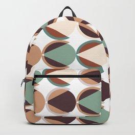 Geometric circle pattern 02 Backpack