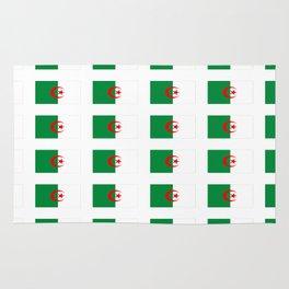 Flag of algeria 2 -algerian,algiers,camus,chaabi,oran,constantine,Annaba. Rug