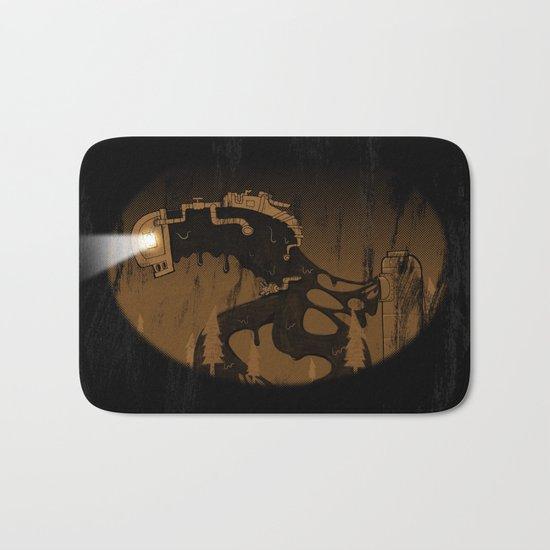 oil monster Bath Mat