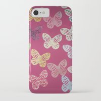 butterflies iPhone & iPod Cases featuring Butterflies  by Sammycrafts