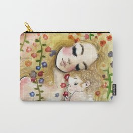 Klimt6 : Mother and Child Carry-All Pouch