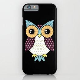 Fancy owl iPhone Case
