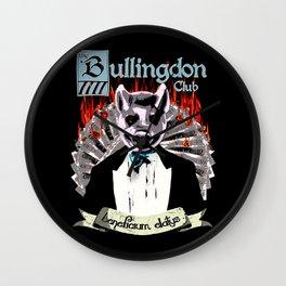 the Bullingdon Club Wall Clock