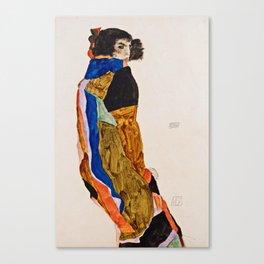 Egon Schiele - Moa Canvas Print
