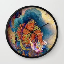 Kano Hogai - Top Quality Art - Niosokkizu Wall Clock