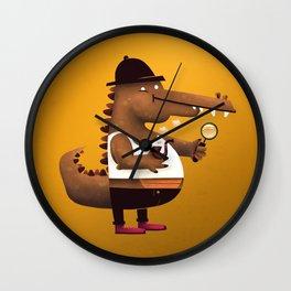 In Vest A Gator Wall Clock