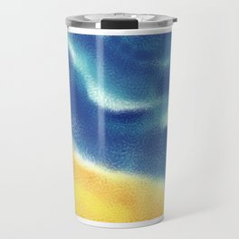 Sea, sand and surf Travel Mug