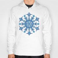sacred geometry Hoodies featuring Sacred Geometry Snowflake Mandala by Jam.