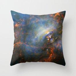Beating Heart Nebula Throw Pillow