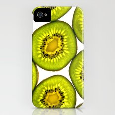 Kiwi Fruit iPhone (4, 4s) Slim Case
