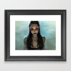 Siren of Phlegethon Framed Art Print