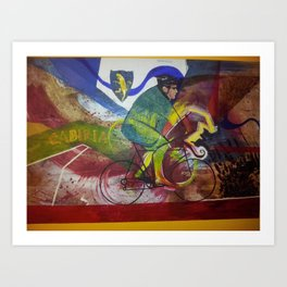 Massimo & Maximus Art Print