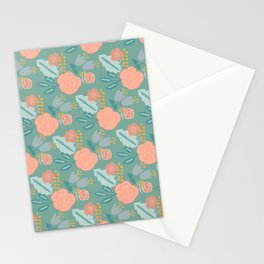Springtime Bouquet 2 Stationery Cards