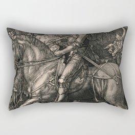Knight Death And The Devil Albrecht Durer Rectangular Pillow