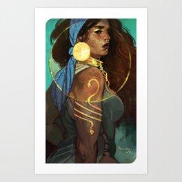 Pirate Queen Art Print