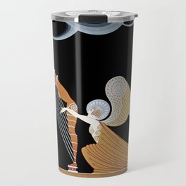 "Art Deco Design ""The Angel"" Travel Mug"