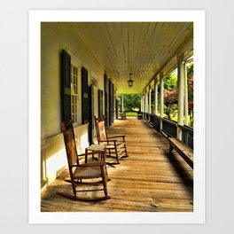 The Front Porch Art Print