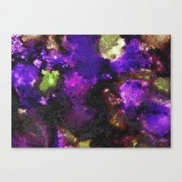 Geode III, Ametrine Canvas Print