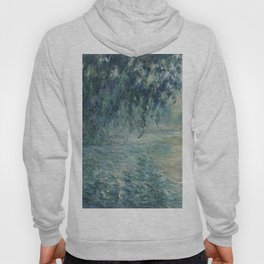 Morning on the Seine, Claude Monet Hoody