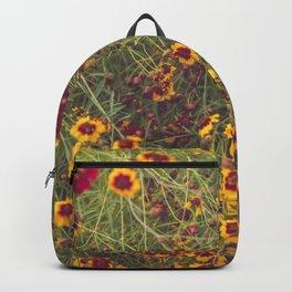 Summer Garden Flower Photography Backpack
