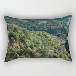 Greenscape Rectangular Pillow