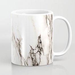 Brown Veined Marble Coffee Mug