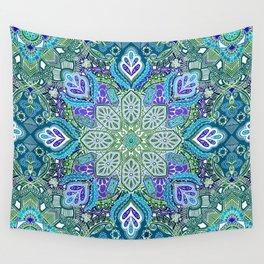 Peacock Summer Wall Tapestry